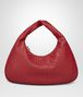 BOTTEGA VENETA VENETA BAG IN CHINA RED INTRECCIATO NAPPA Shoulder or hobo bag D fp