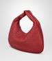 BOTTEGA VENETA VENETA BAG IN CHINA RED INTRECCIATO NAPPA Shoulder Bag Woman rp