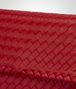 BOTTEGA VENETA OLIMPIA BAG IN CHINA RED INTRECCIATO NAPPA Shoulder Bag Woman ep