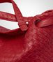 BOTTEGA VENETA BORSA GARDA MEDIA IN INTRECCIATO NAPPA CHINA RED Borsa a spalla D ep