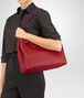 BOTTEGA VENETA BORSA GARDA MEDIA IN INTRECCIATO NAPPA CHINA RED Borsa a spalla D lp