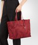 BOTTEGA VENETA CHINA RED INTRECCIOLUSION MEDIUM TOTE Top Handle Bag D ap