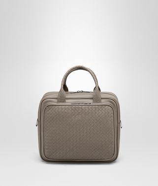 TRAVEL BAG IN STEEL INTRECCIATO VN