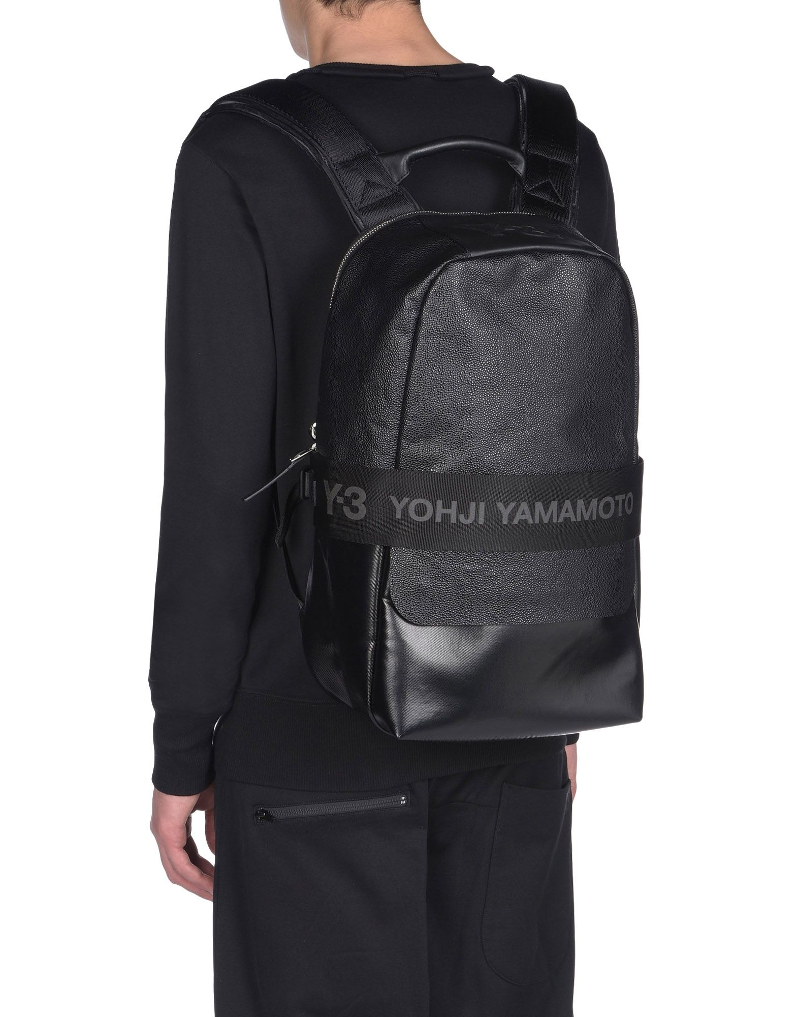 Y 3 QASA LEATHER BACKPACK Backpacks for Women | Adidas Y-3 ...