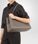 BOTTEGA VENETA TOTE BAG IN STEEL INTRECCIATO NAPPA Top Handle Bag D ap