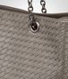 BOTTEGA VENETA TOTE BAG IN STEEL INTRECCIATO NAPPA Top Handle Bag Woman ep