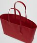 BOTTEGA VENETA CHINA RED INTRECCIATOMIRAGE MEDIUM TOTE Tote Bag D dp