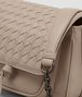BOTTEGA VENETA MINK INTRECCIATO NAPPA SHOULDER BAG Shoulder or hobo bag D ep