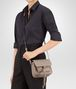 BOTTEGA VENETA SHOULDER BAG IN MINK INTRECCIATO NAPPA Shoulder or hobo bag D lp