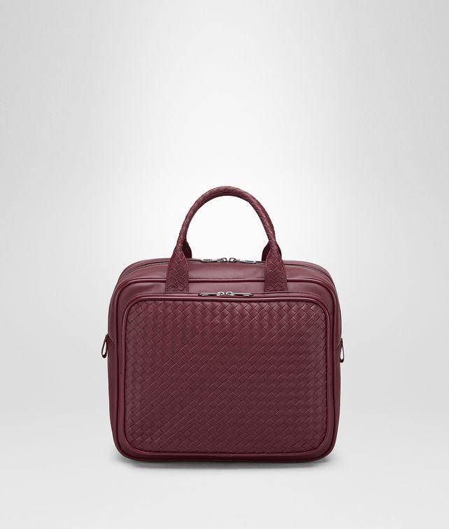 BOTTEGA VENETA TRAVEL BAG IN BAROLO INTRECCIATO VN Duffel Bag E fp 648c5abd749d5