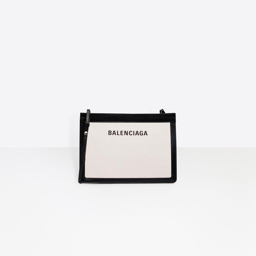 f2a9e18706 Navy Pochette NATURAL / BLACK for Women | Balenciaga