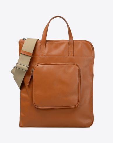 MAISON MARGIELA 11 Tote U Shopping bag in calfskin leather f