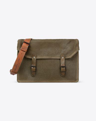 MAISON MARGIELA 11 Shoulder bag U Cotton shoulder bag f