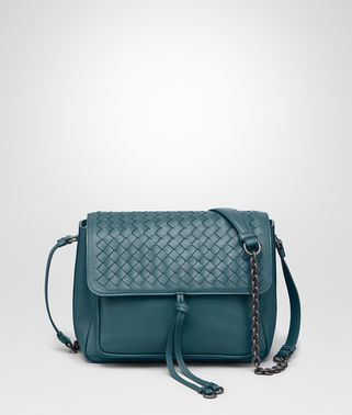 SHOULDER BAG IN BRIGHTON INTRECCIATO NAPPA