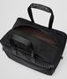 BOTTEGA VENETA TRAVEL BAG IN NERO TECHNICAL CANVAS AND INTRECCIATO CALF Luggage E dp