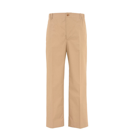 Mushroom Technical Cotton Trousers