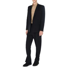 Black Canvas Tailoring Trousers