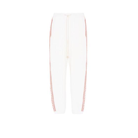 White Rustic Sportswear Trousers