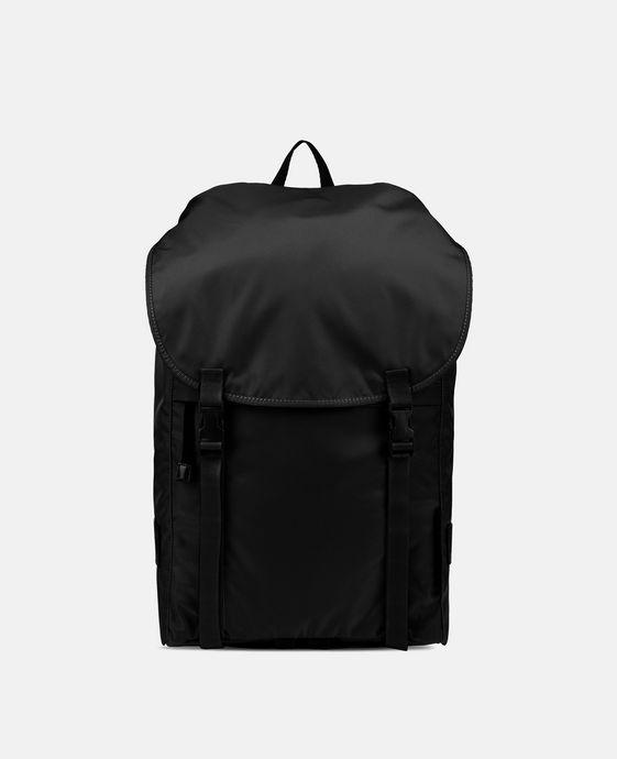 黑色 Eco Nylon 双肩包