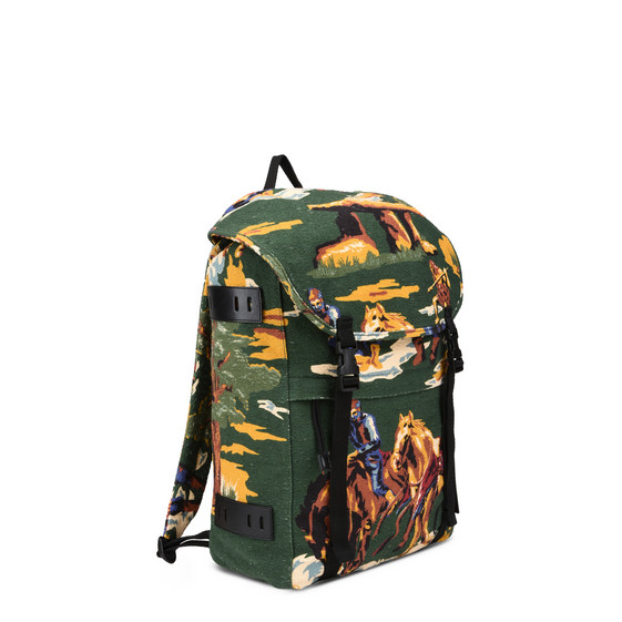 Country Scene Backpack