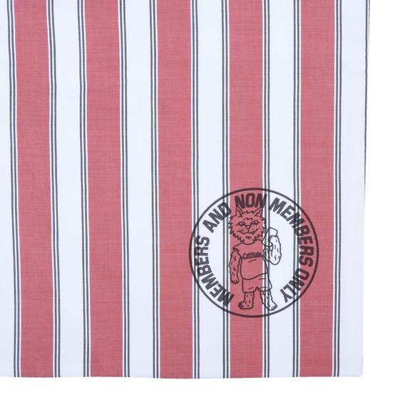 Members Print Striped Tote Bag
