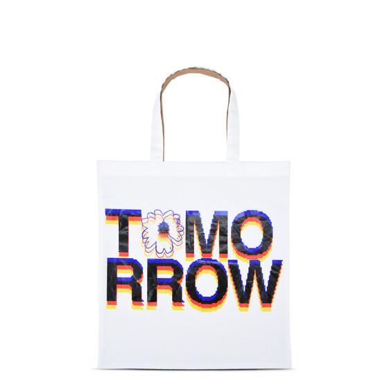 Tomorrow Print Tote Bag