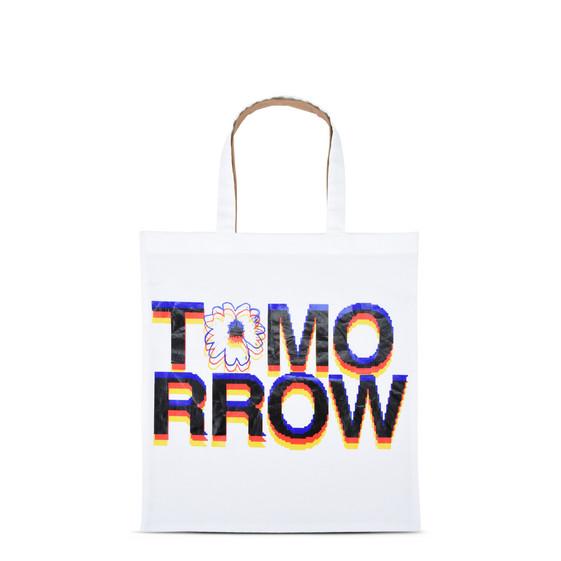 トゥモロー プリント トートバッグ