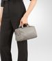 BOTTEGA VENETA TOP HANDLE BAG IN FUME' INTRECCIATO NAPPA Top Handle Bag D ap