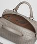 BOTTEGA VENETA TOP HANDLE BAG IN FUME' INTRECCIATO NAPPA Top Handle Bag D dp