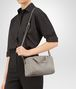 BOTTEGA VENETA TOP HANDLE BAG IN FUME' INTRECCIATO NAPPA Top Handle Bag Woman lp