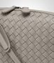 BOTTEGA VENETA MESSENGER BAG IN FUME' INTRECCIATO NAPPA Crossbody bag D ep