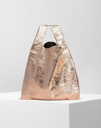 MM6 by MAISON MARGIELA Tote D Mirror leather shopping bag f