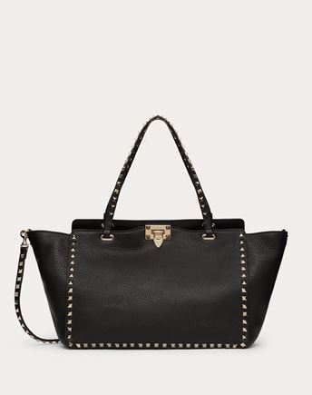 VALENTINO HANDBAG D Candystud Top Handle Bag f