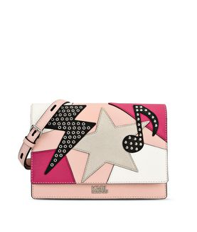 KARL LAGERFELD K/PATCHWORK SHOULDERBAG