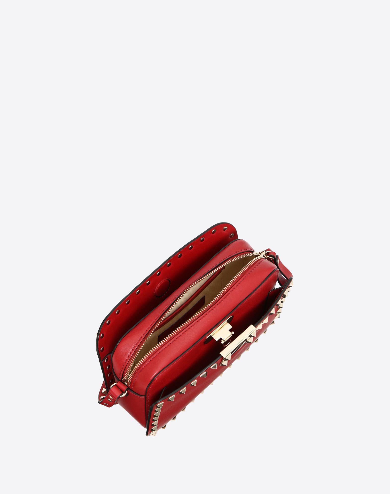 VALENTINO GARAVANI Rockstud Cross Body Bag CROSS BODY BAG D e
