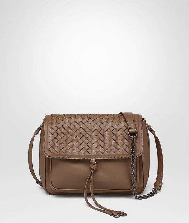 d1b76b28f16d BOTTEGA VENETA SHOULDER BAG IN NEW CIGAR INTRECCIATO NAPPA Shoulder Bag       pickupInStoreShipping info