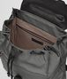 BOTTEGA VENETA LIGHT GRAY TECHNICAL CANVAS BACKPACK Backpack Man dp