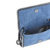 STELLA McCARTNEY Falabella Denim Embroidered Cross Body Bag Cross Body D e