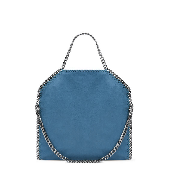 Peacock Falabella Shaggy Deer Fold Over Tote