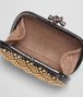 BOTTEGA VENETA KNOT IN NERO AYERS, METAL STUDS DETAILS Clutch D dp
