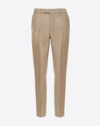 VALENTINO CONTRASTING SIDE BAND PANTS 45333460PJ