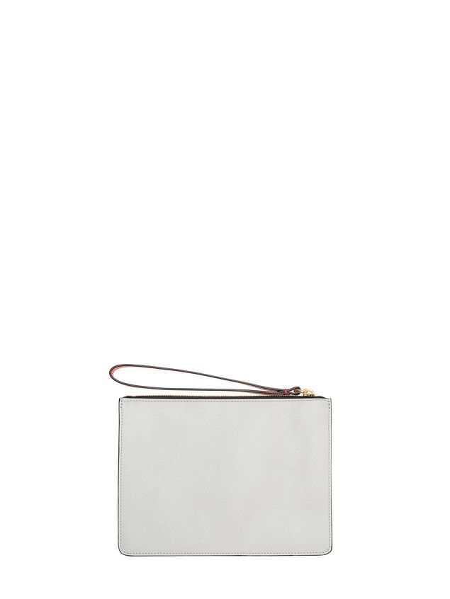 Marni Trunk clutch in Saffiano calfskin Woman