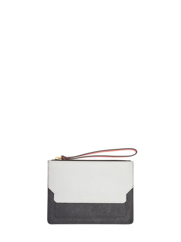Marni Trunk clutch in Saffiano calfskin Woman - 1