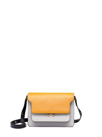 Marni TRUNK shoulder bag in Saffiano calfskin  Woman