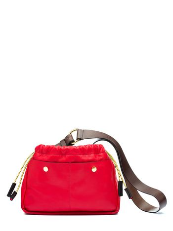 Marni SWING shoulder bag in matt nappa Woman