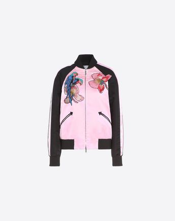 VALENTINO Embroidered Varsity Jacket 45333660DQ
