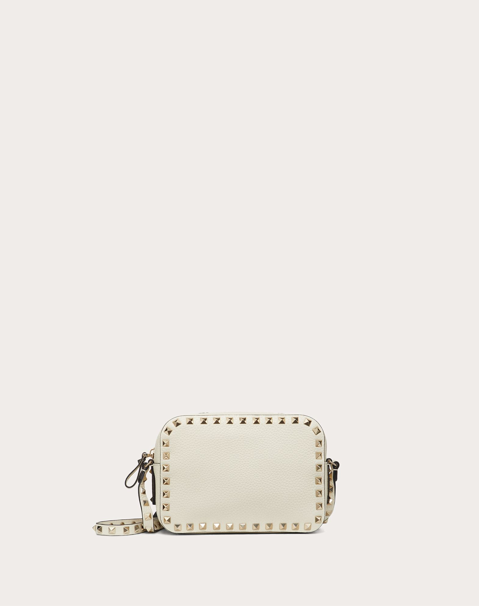 VALENTINO 铆钉 附品牌标志 单色  拉链 内部口袋 可调式背带  45333842bq
