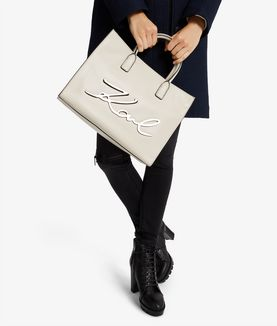 KARL LAGERFELD K/SIGNATURE SHOPPER