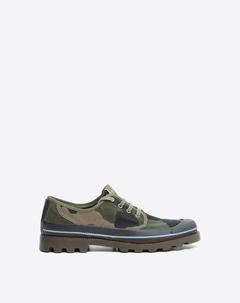 VALENTINO Id Camouflage Low-Top Sneaker 45335296XH