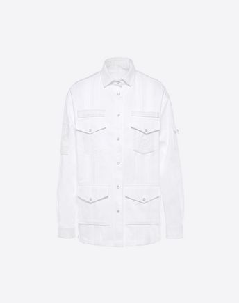 VALENTINO Embroidered Cotton Jacket 45335543IN